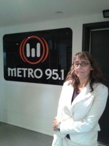 Cristina en Metro 95.1